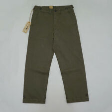 BOB DONG Repro US Army M-45 Truosers Vintage Men's Military Pants Olive Natural