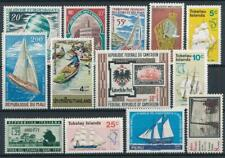 [126287] Worldwide Boats good lot of stamps very fine MNH