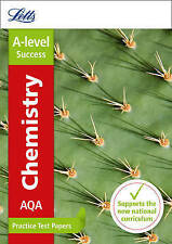 AQA A-Level Chemistry Practice Test Papers by Letts A-Level (Paperback, 2016)