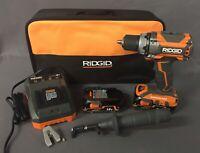 "RIDGID GEN5X 18V 1/2"" Cordless Brushless Compact Drill/Driver Kit R86009K [B]"