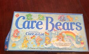 Vintage Care Bears - On The Path To Care-a-lot Game - 1983 Parker Brothers
