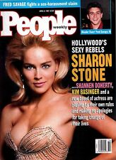 People Magazine April 5, 1993 Sharon Stone Fred Savage Kim Basinger NO LABEL