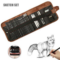 Pencil Set Sketching Drawing Art Tool Graphite Pencils Sketching Supplies 29pcs