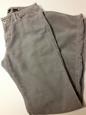 Juniors Classic Express Jeans Brand Gray Corduroy Pants size 7-8 / mid/low rise