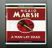 A Man Lay Dead: by Ngaio Marsh - Audiobook - 6CDs