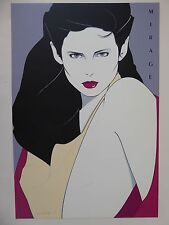 Patrick Nagel - MIRAGE -  Hand Signed & Numbered - 1980 - 81/250