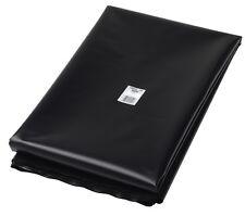 Film noir polyéthylène 150 microns, 5m x 8m, bache toutes protections