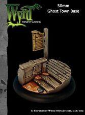 Ghost Town 50mm Base Insert WYR0036 Malifaux Wyrd Miniatures