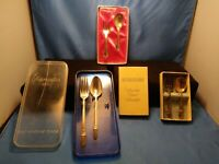 Vintage 1847 Rogers Bros 3 Silverware Baby/Childs Fork & Spoon Set 2 ALL 3 FOR 1