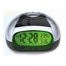 Sonnet Industries LCD Bright Back Light Temperature Talking Alarm Clock NT4429