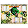 Times Tables Poster Maths Wall Chart Multiplications Educational Dinosaurs Theme