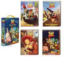 Friendship Box Toy Story The Toy Box Set Woody,Buzz Lightyear+(4 Baord Book)