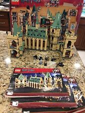 Lego Harry Potter Hogwarts Castle 4842 With Minifigures Instructions and Box