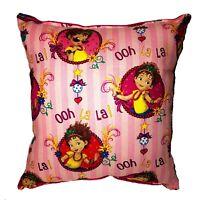 Fancy Nancy Pillow Disney Jr HANDMADE In USA Toddler ,Travel , Daycare, Pillow