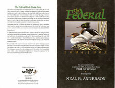 #RW61-C2  $15.00 1994-1995 Federal Duck Stamp First Day Ceremony  Program