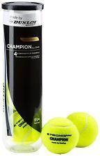 Dunlop Tennisball Champion All Court - 4er Dose Tennisbälle