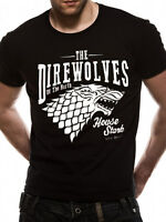 Official - GAME OF THRONES - DIREWOLVES - Tee unisex T Shirt - S M L XL XXL 2XL