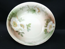 LARGE ANTIQUE PSAG BAVARIA GERMANY CENTER BOWL 9.25""
