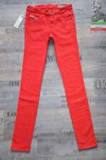 Diesel Mid Rise Slim, Skinny L32 Jeans for Women
