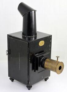 Lanterne magique C ECKENRATH BERLIN Fabrication allemande Vers 1860