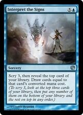 MTG Magic JOU FOIL - Interpret the Signs/Interpréter les signes, English/VO
