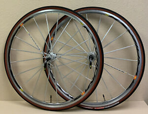 MAVIC KSYRIUM SL WHEELSET 700C CAMPAGNOLO COMPATIBLE 10 OR 9 SPEED MAVIC SKEWER