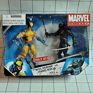 Marvel Universe 3.75 Target Exclusive 2 Pack.  Wolverine vs Hand Ninja