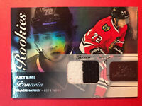 2015-16 UD Fleer Flair Showcase Rookies Dual Color Patch Artemi Panarin Jersey