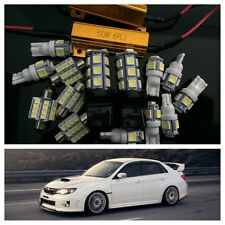 LED Kit Subaru Impreza WRX / STi Sedan REVERSE 2001-2015 10pc 7000k Cool White