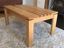 Bespoke Handmade Solid Oak & Walnut Coffee Table / Side Table