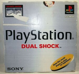Empty Console Box for Sony PlayStation PS1 SCPH-7501 Dual Shock - Authentic