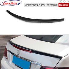 Carbon Fiber Rear Spoiler for 2010-16 Mercedes-Benz W207 C207 2D Coupe E350 E550