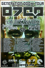 Otep Generation Doom 2016 Ltd Ed Rare Tour Poster +Free Rock Poste! Lacey Sturm