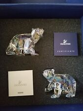 Swarovski 2011 Polar Bear Cubs Crystal Moonlight #1079156