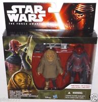 "Star Wars SIDON ITHANO FIRST MATE QUIGGOLD 3.75"" inch The Force Awakens B5896"