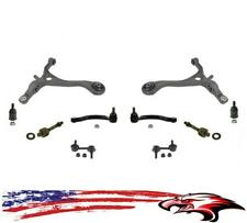 Lower Control Arms Ball Joints Sway Bar Link & Tie Rods for Acura TL 2004-2008