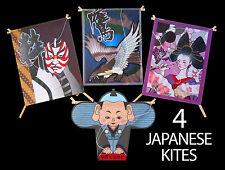 Japanese colorful handicraft miniature kite set #2