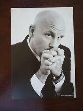 John Malkovich Blaine DiCaprio Double Side Coffee Table Book Photo Page 9x13