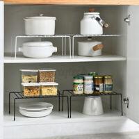 Adjustable Storage Rack Multi-Function Kitchen Organizer Holder Cupboard Shelf
