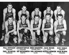 1947-48 BALTIMORE BULLETS NBA BAA Western Division CHAMPS 8X10 TEAM PHOTO