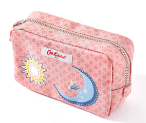 NEW Cath Kidston Shadow Flowers Make up Cosmetic bag in Pink *With Tags*