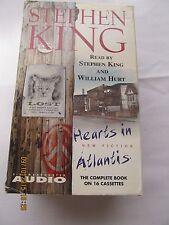Hearts in Atlantis by Stephen King (1999, Cassette, Unabridged) WILLIAM HURT