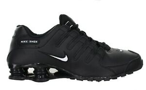 "Nike Men's ""Shox NZ EU"" Black Training Shoes Size 10 NIB"