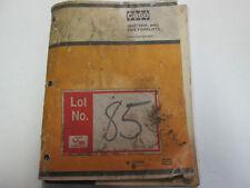 CASE 584E 585E 586E Forklift Parts Catalog Manual OEM Book 8-2870 Used ***