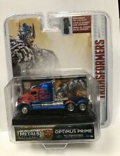2017 Jada Toys~OPTIMUS PRIME Transformers~Metal Die Cast~Hollywood Rides~NIB