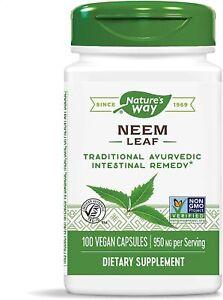 Neem Leaf 475 mg 100 Vegetarian Capsules