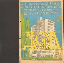 ALOHA 21 Velvet Underground MAUREEN MO TUCKER Roger Chapman FAMILY Robert Crumb