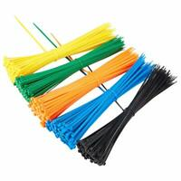 Neon Green Plastic Nylon Cable Ties Long Wide Extra Large Zip Tie Wrap Colours