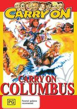 CARRY ON COLUMBUS  - NEW & SEALED DVD - FREE LOCAL POST