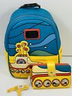 Loungefly The Beatles Yellow Submarine Mini Backpack And Wallet Set NWT